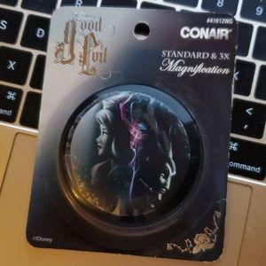 Disney x CONAIR LE good vs evil compact mirror